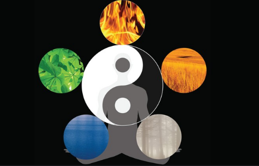 The Five Elements within the Yin and Yang